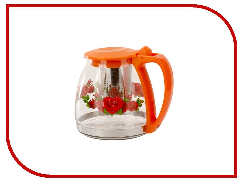 Чайник заварочный Bekker BK-7624 чайник заварочный bekker 303 вк серебристый 0 9 л металл пластик