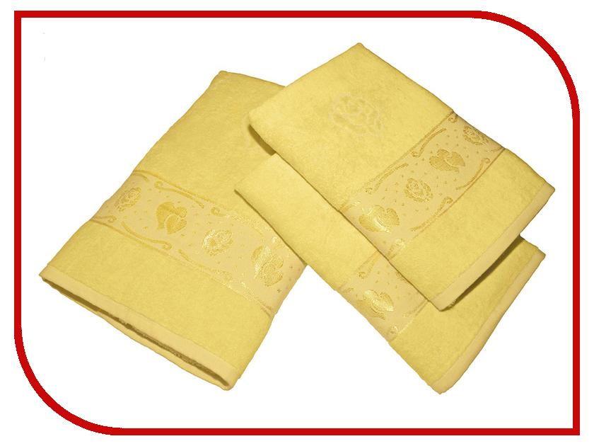 Полотенце Aisha Home УНП-018-03-3 Yellow