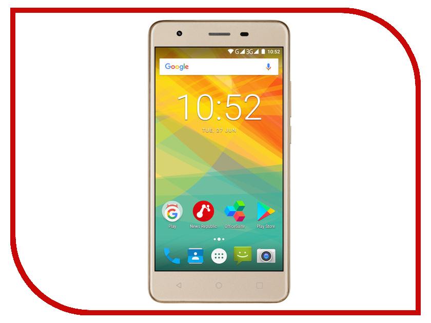 Сотовый телефон Prestigio 3552 Muze H3 5.5 Gold планшет prestigio muze 3708 3g pmt3708