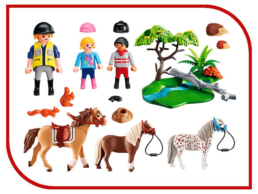 Конструктор Playmobil Ферма Пони Верховая езда 6947pm playmobil® ферма золотые ретриверы с щенками playmobil