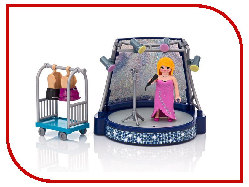 Конструктор Playmobil Круизный Лайнер Певица со сценой 6983pm playmobil® playmobil 5110 конный клуб трекерная лошадь со стойлом