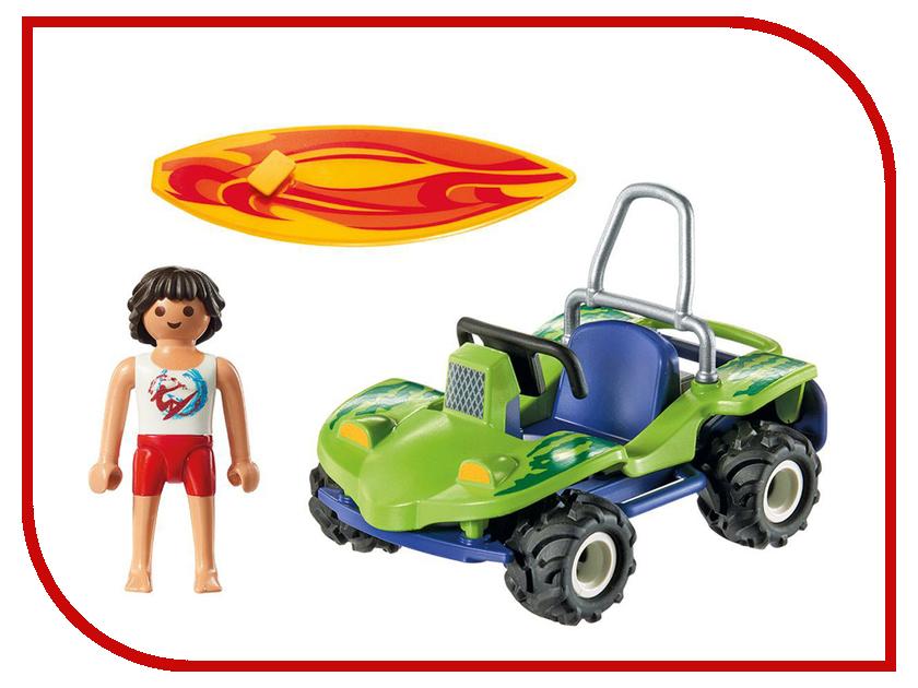 Конструктор Playmobil Круизный Лайнер Серфер с пляжным квадроциклом 6982pm playmobil спасатели с носилками