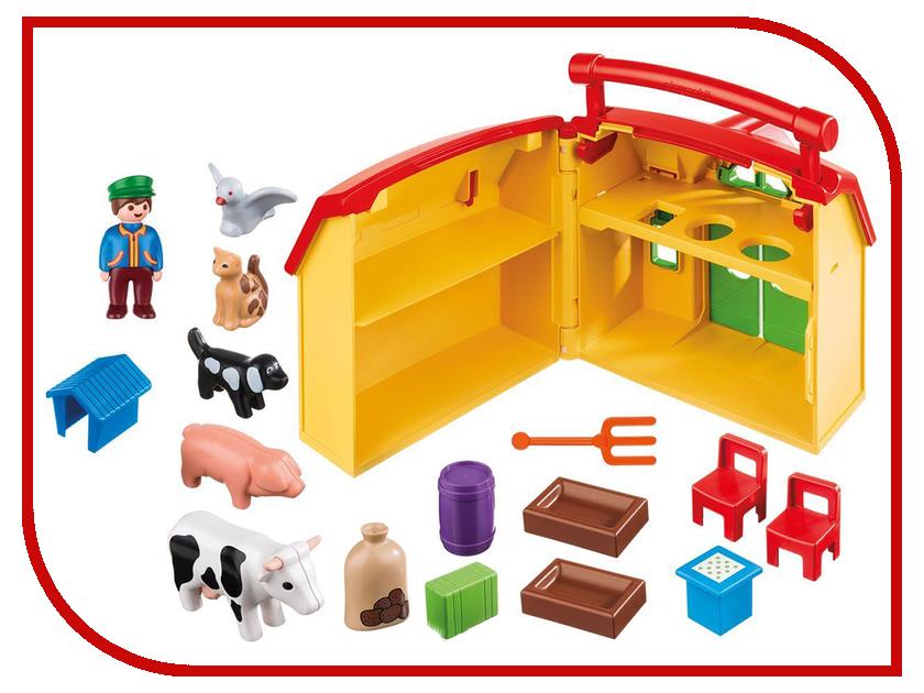 Конструктор Playmobil 1.2.3. Ферма возьми с собой 6962pm