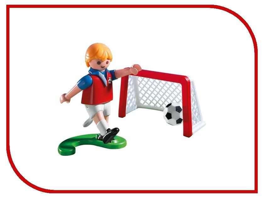 Конструктор Playmobil Яйцо Футболист с воротами и мячом 4947pm playmobil спасатели с носилками