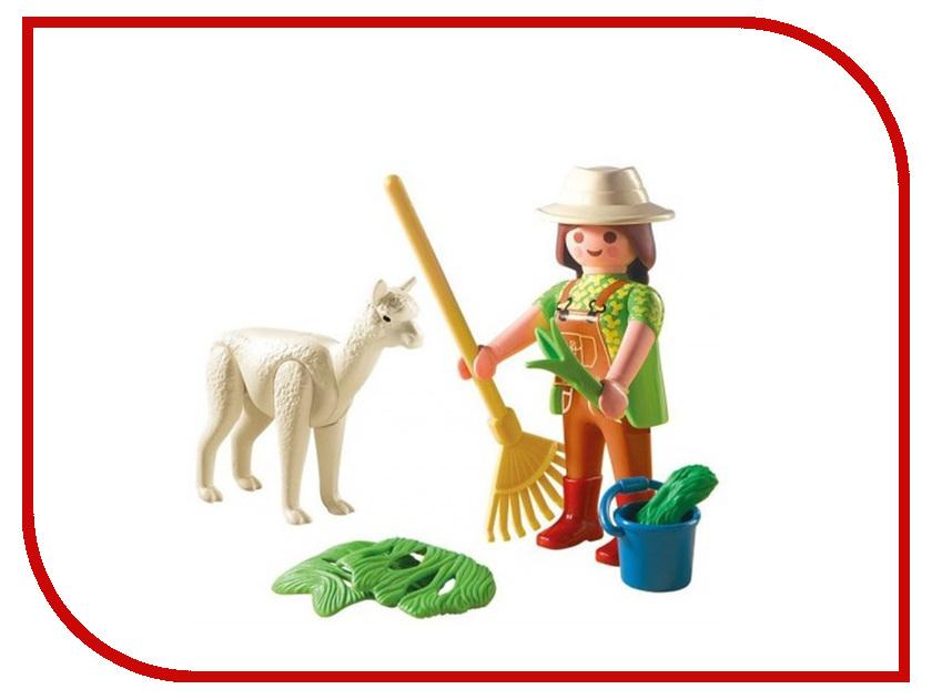 Конструктор Playmobil Яйцо Смотритель зоопарка с Альпаком 4944pm playmobil® яйцо пират в поисках сокровищ playmobil