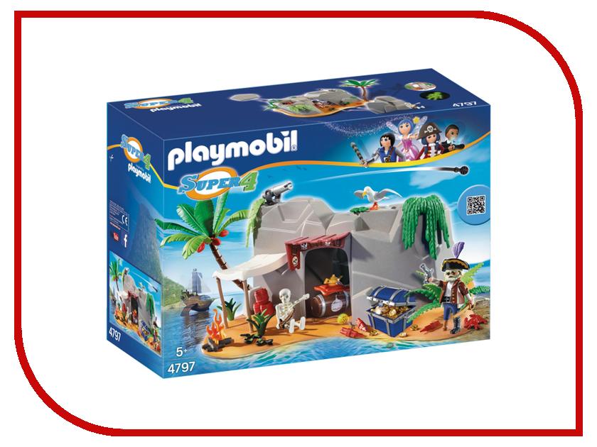 Конструктор Playmobil Супер 4Пещера Пирата 4797pm