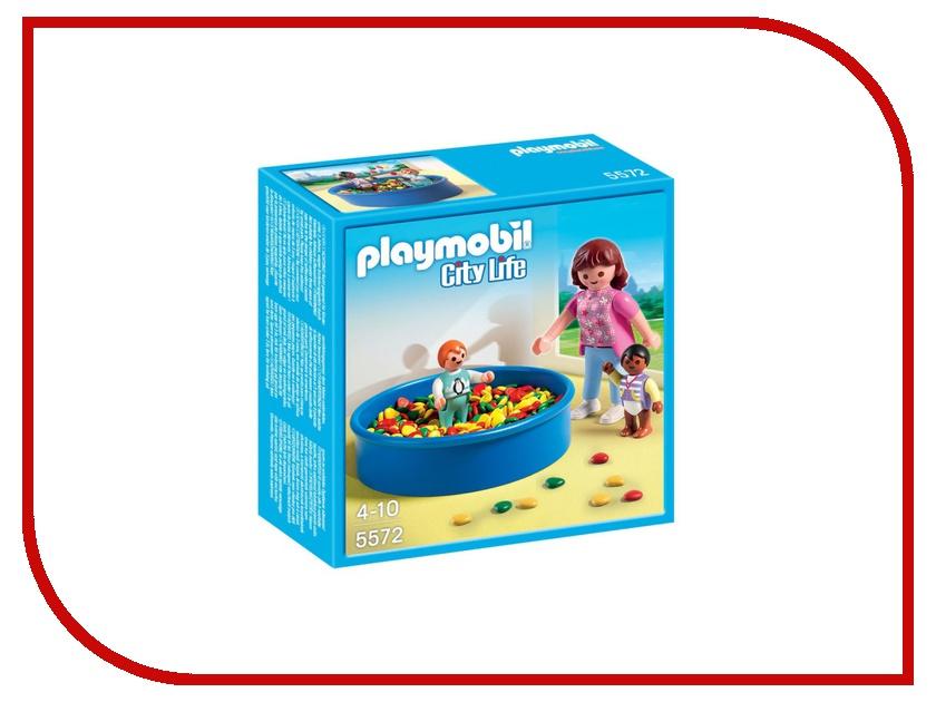 Конструктор Playmobil Детский сад Игровая площадка с шариками 5572pm playmobil 5266 summer fun детский клуб с танц площадкой