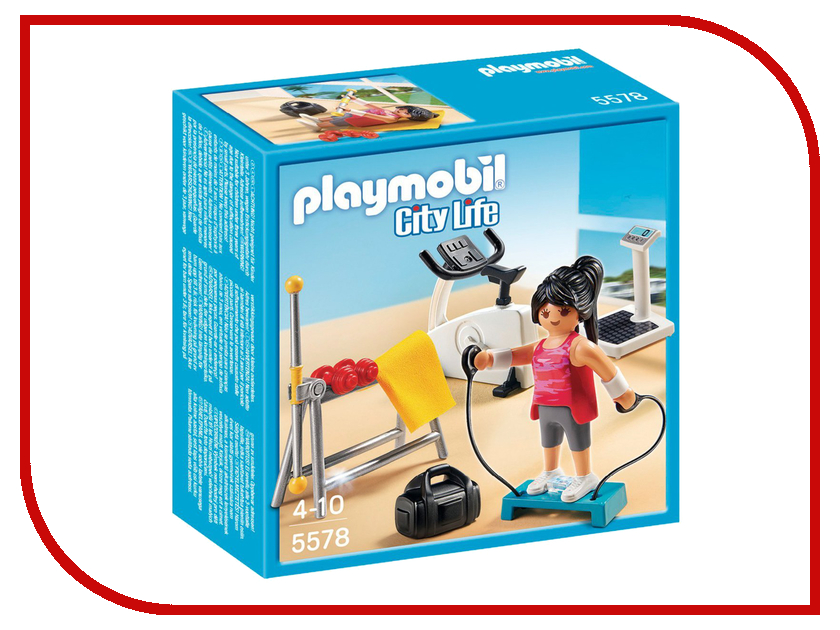 Конструктор Playmobil Комната для фитнеса 5578pm особняк номер для гостей playmobil
