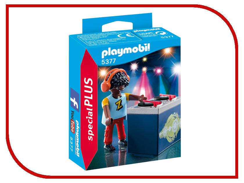 Конструктор Playmobil Экстра-набор Ди-джей 5377pm