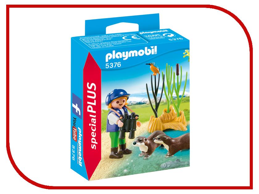 Конструктор Playmobil Экстра-набор Молодой исследователь с выдрами 5376pm playmobil® экстра набор пират и сундук с сокровищами playmobil