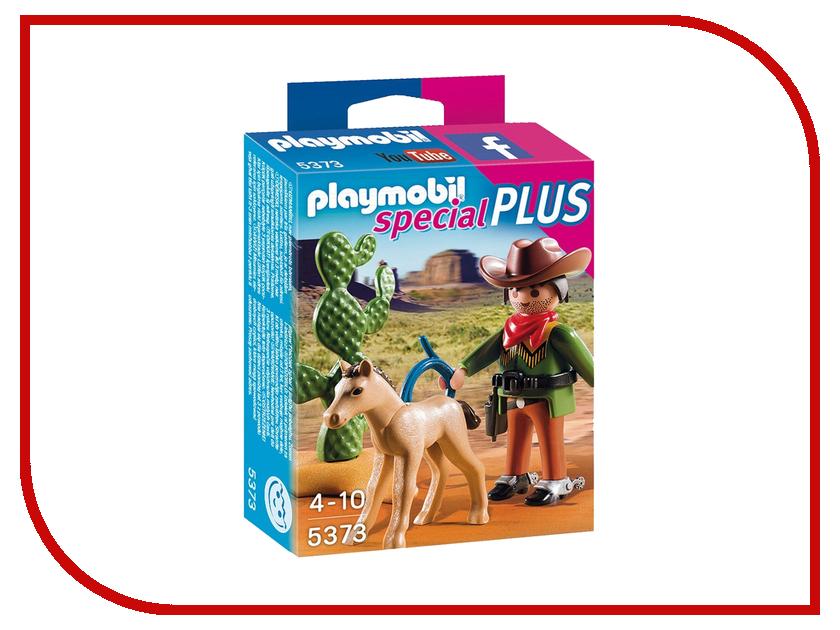 Конструктор Playmobil Экстра-набор Ковбой с жеребенком 5373pm playmobil® экстра набор пират и сундук с сокровищами playmobil