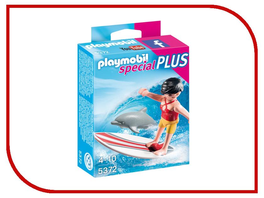 Конструктор Playmobil Экстра-набор Сёрфингист с доской 5372pm playmobil® экстра набор сёрфингист с доской playmobil
