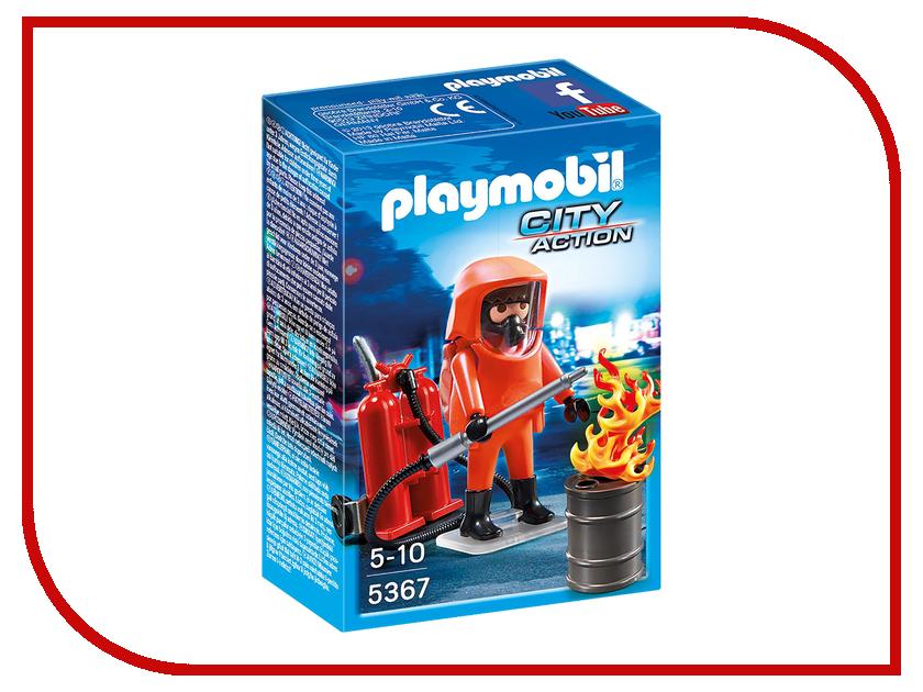 Конструктор Playmobil Пожарная служба Специальные пожарные силы 5367pm