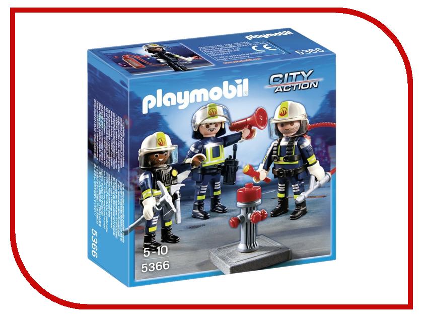 Конструктор Playmobil Пожарная служба Команда пожарников 5366pm first 5366