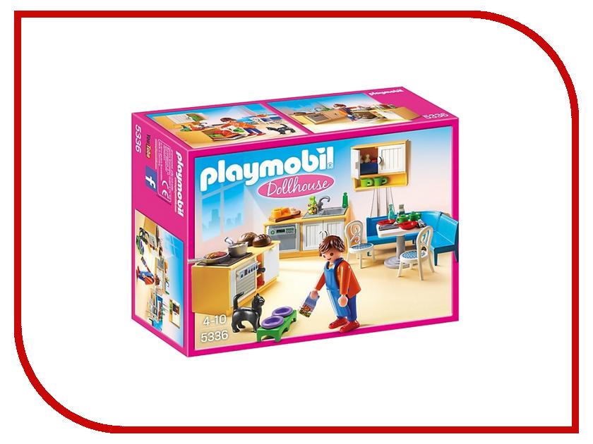Конструктор Playmobil Кукольный дом Встроенная кухня с зоной отдыха 5336pm дом кукольный из дерева
