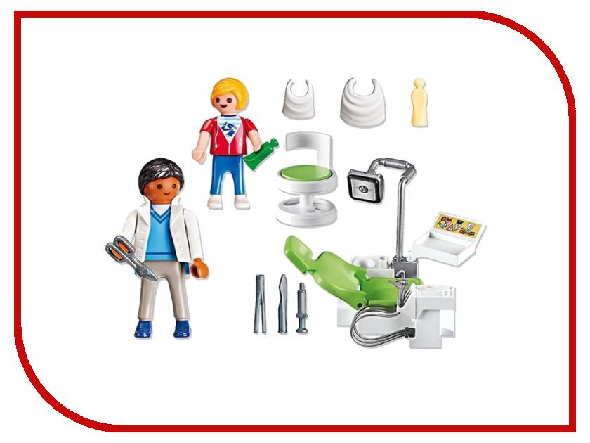 Конструктор Playmobil Детская клиника Дантист с пациентом 6662pm playmobil® детская клиника рентгеновский кабинет playmobil