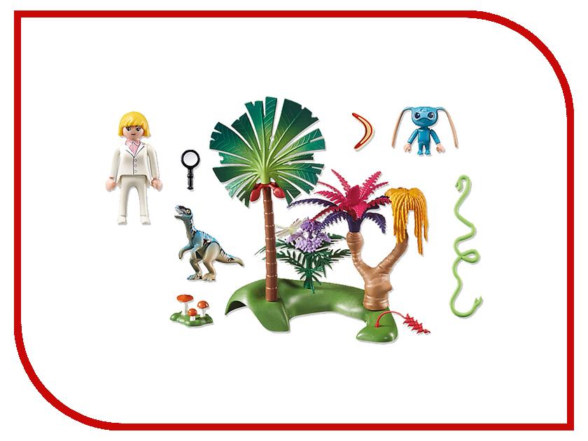 Конструктор Playmobil Супер 4 Затерянный остров с Алиен и Хищником 6687pm playmobil® playmobil 5289 секретный агент мега робот с бластером