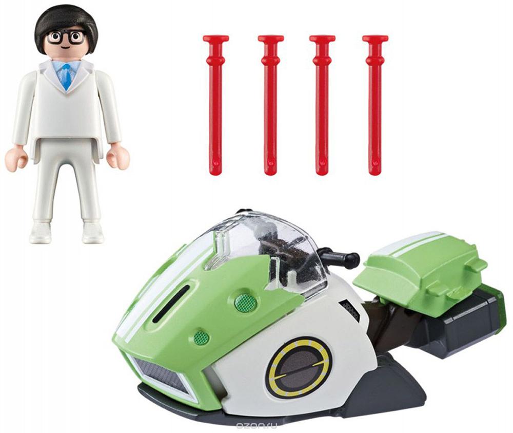 Конструктор Playmobil Супер 4 Скайджет 6691pm playmobil супер 4 инопланетный воин с т рекс ловушкой 9006