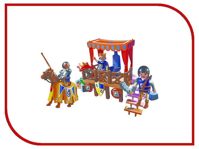 Конструктор Playmobil Супер 4 Королевская Трибуна с Алексом 6695pm игровые наборы playmobil супер4 королевская трибуна с алексом