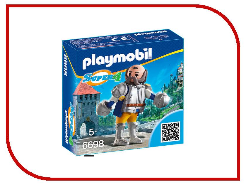 Конструктор Playmobil Супер4 Королевский страж Сэра Ульфа 6698pm игровые наборы playmobil возьми с собой черный замок барона супер4