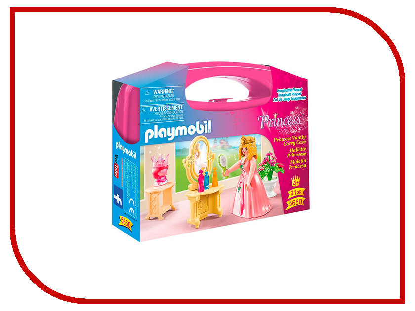 Конструктор Playmobil Возьми с собой Туалетный столик Принцессы 5650pm туалетный столик аскона