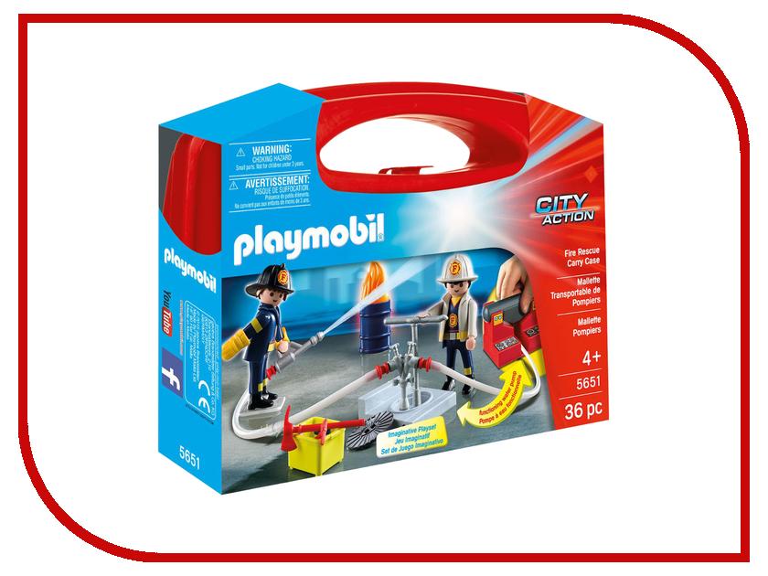 Конструктор Playmobil Возьми с собой Пожарная служба 5651pm playmobil спасатели с носилками