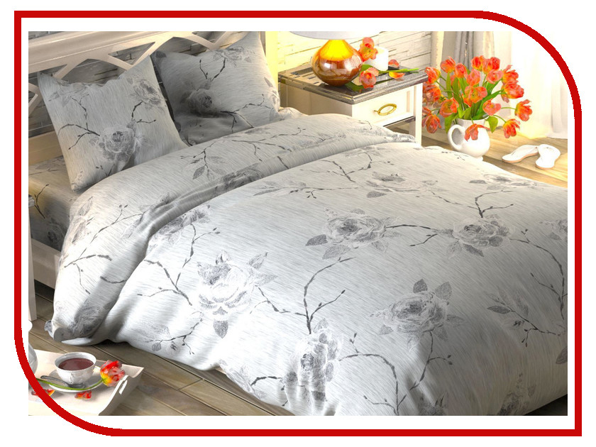 Постельное белье Этель Афелия Комплект 2 спальный Поплин 1444238