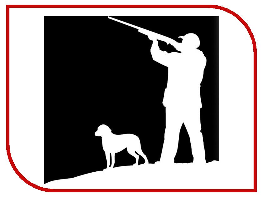 Наклейка на авто Sport-Sticker Охота №01 White русская охота