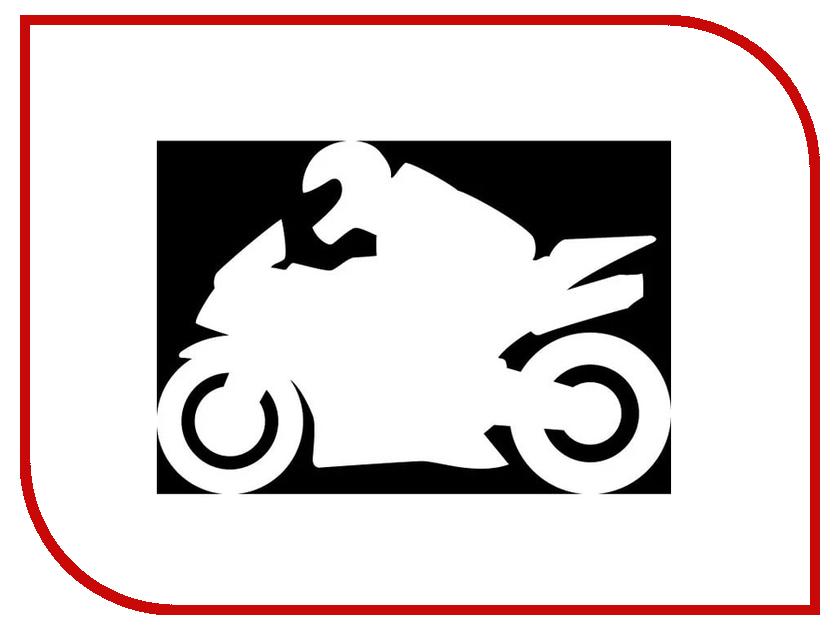 Наклейка на авто Sport-Sticker Мотоспорт №01 White