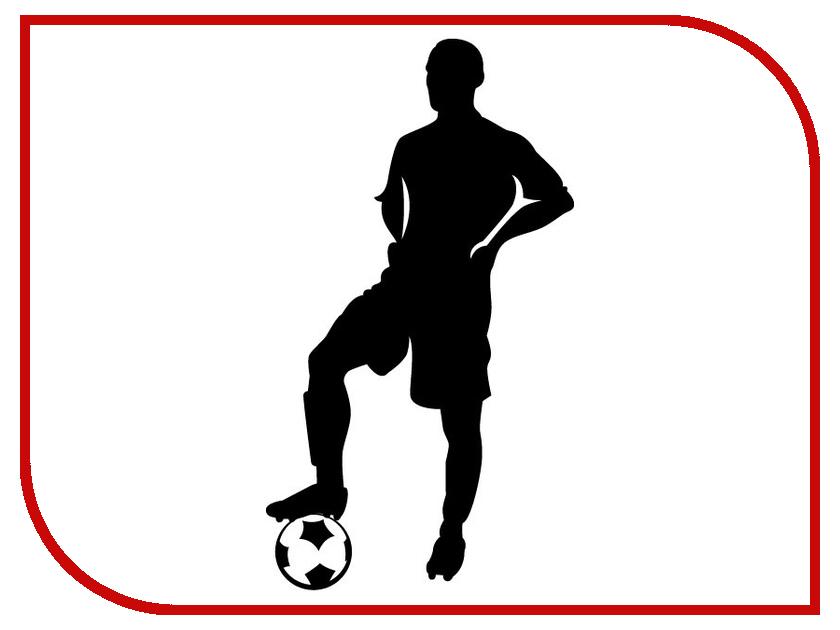 Наклейка на авто Sport-Sticker Футбол №01 Black