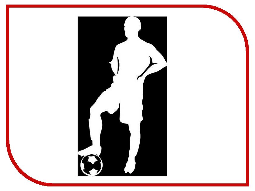 Наклейка на авто Sport-Sticker Футбол №01 White