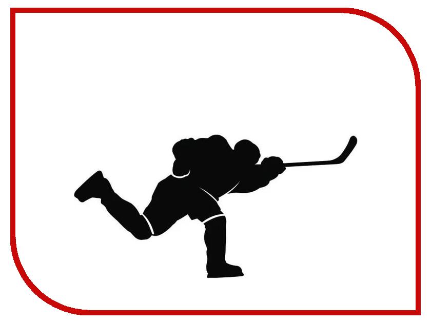 Наклейка на авто Sport-Sticker Хоккей №09 Black