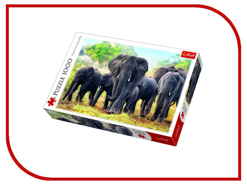 Пазл Trefl Африканские слоны 10442
