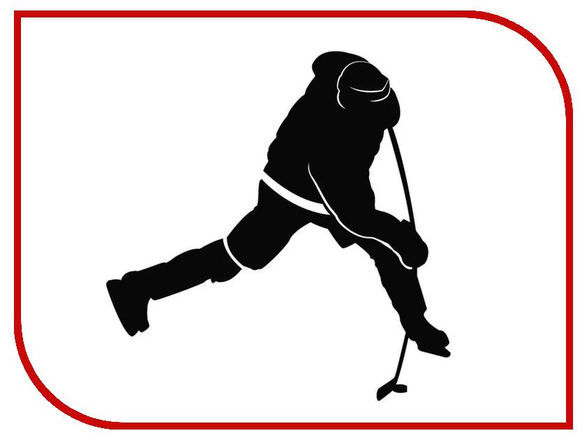 Наклейка на авто Sport-Sticker Хоккей №08 Black билеты через интернет на хоккей металлург магнитогорск