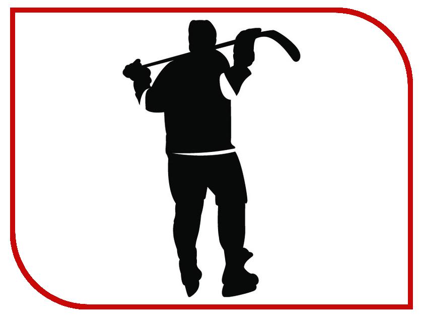 Наклейка на авто Sport-Sticker Хоккей №07 Black