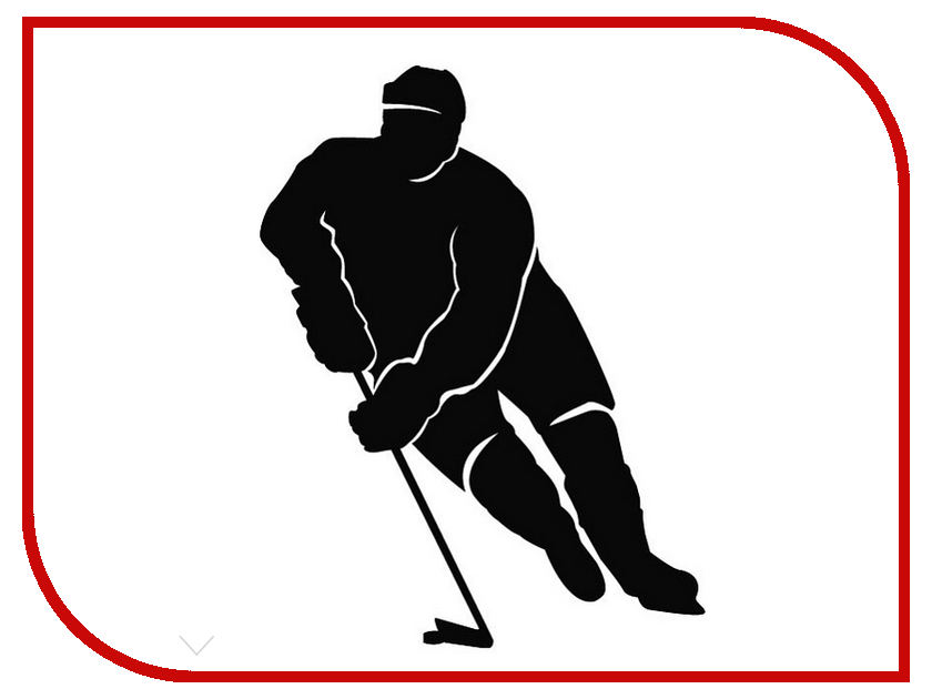 Наклейка на авто Sport-Sticker Хоккей №13 - фото 8