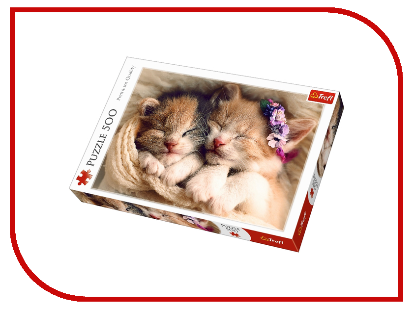 Пазл Trefl Спящие котята 37271