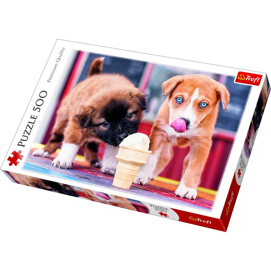 Пазл Trefl Время для мороженого 37272 trefl пазлы trefl париж на рассвете 1000 деталей