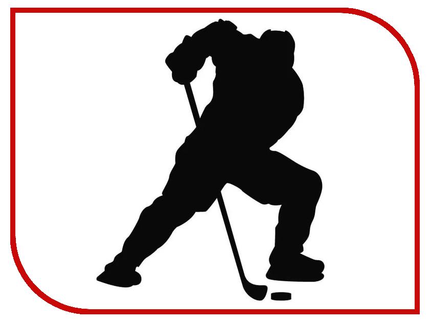 Наклейка на авто Sport-Sticker Хоккей №03 Black