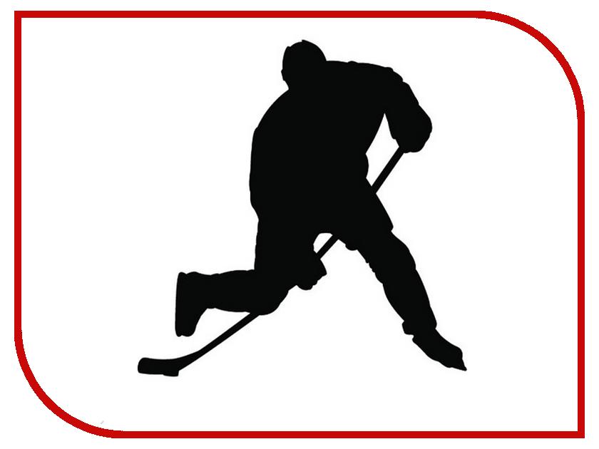 Наклейка на авто Sport-Sticker Хоккей №01 Black билеты через интернет на хоккей металлург магнитогорск