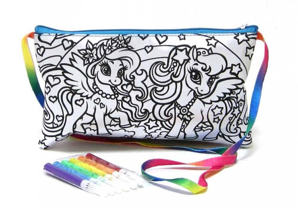 Набор для раскрашивания Danko Toys My Color Clutch Пони CCL-02-01