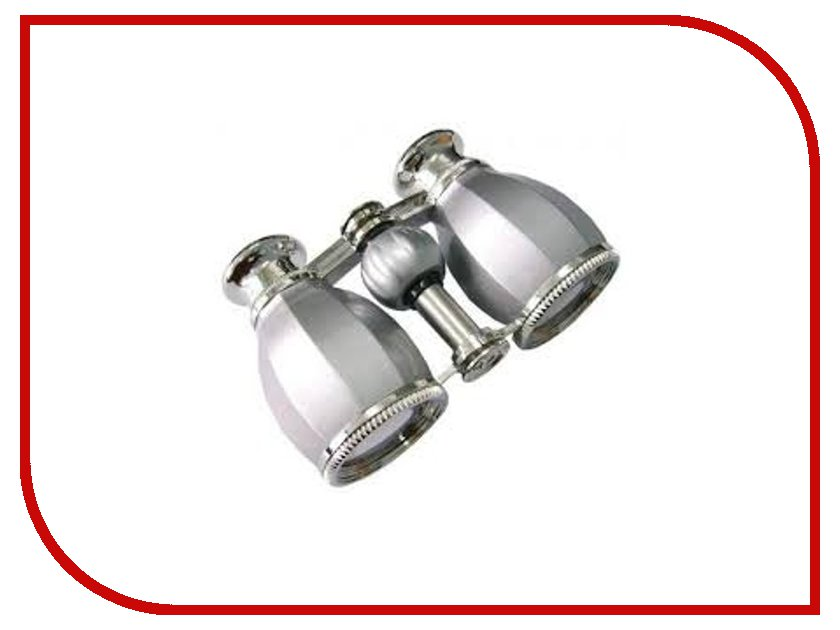 Бинокль Veber Opera БГЦ 4x30 А02 Silver<br>