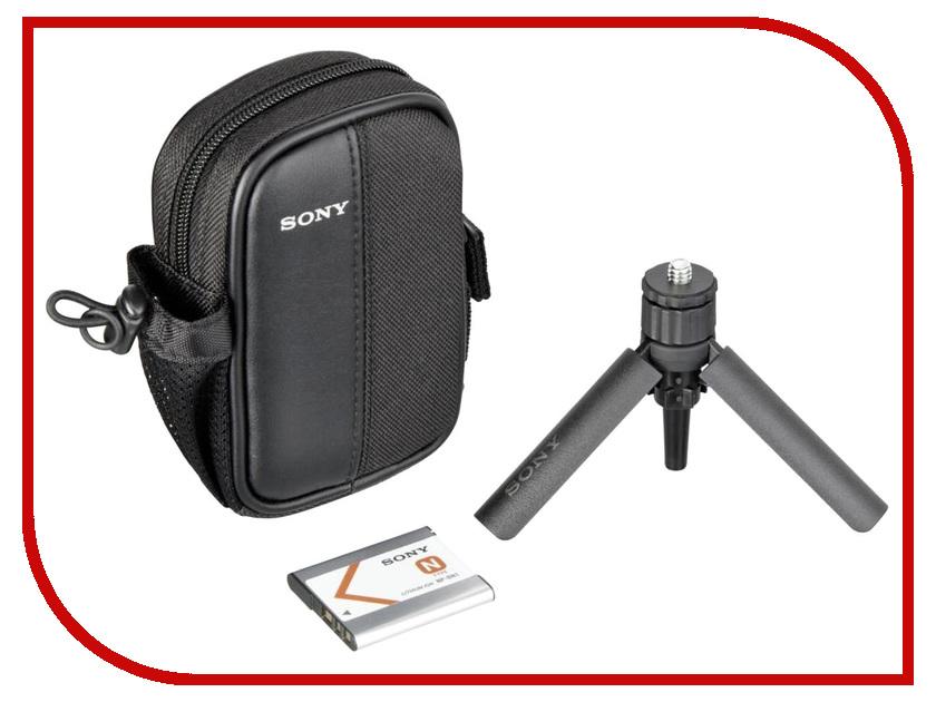 Sony ACC-CTBN сумка с аккумулятором NP-BN1 и мини-штативом для WX, W, TX Series