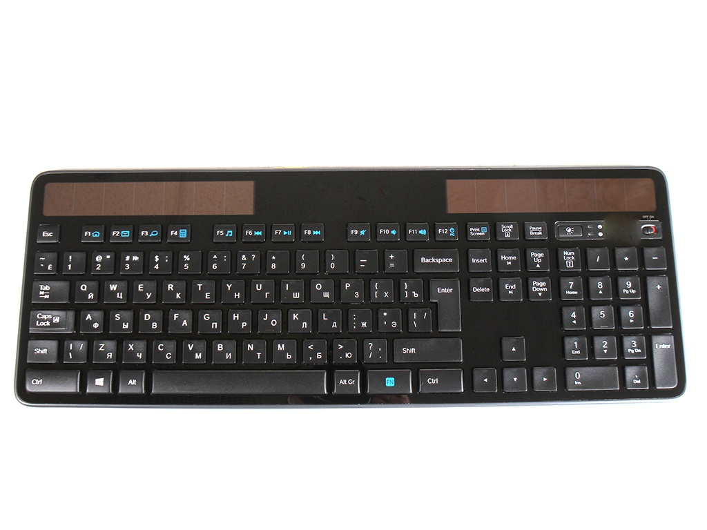 Клавиатура Logitech Wireless Solar Keyboard K750 920-002938