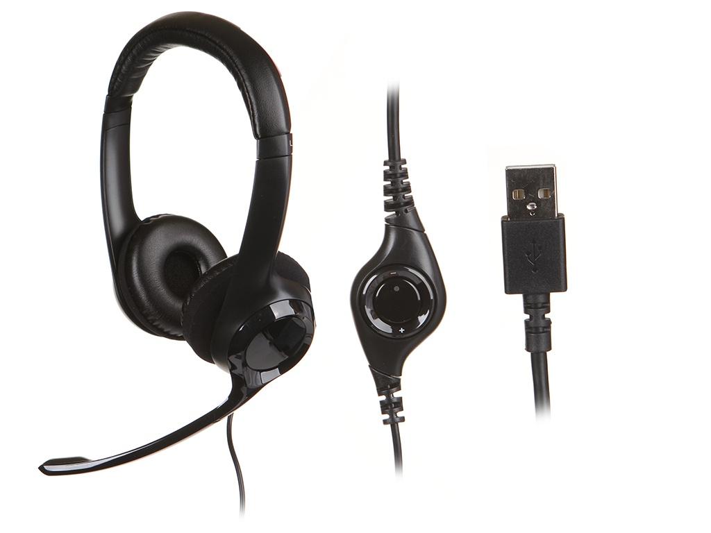 Наушники Logitech H390 USB 981-000406