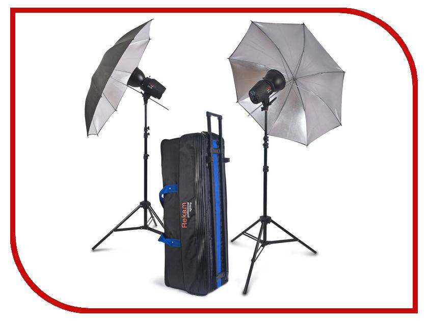 Комплект студийного света Rekam Opus Digi 150M Kit фотоаппарат rekam ilook s777i red