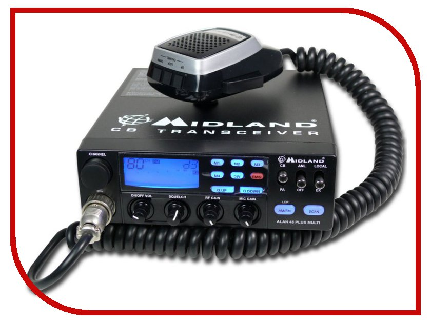Рация Midland Alan 48 Plus рация midland m mini
