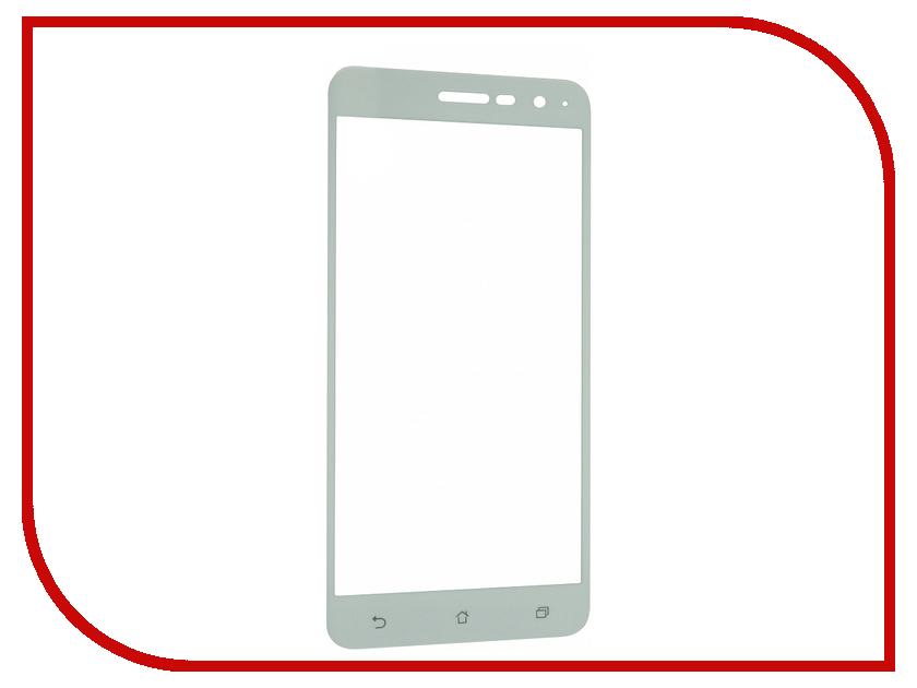 Аксессуар Защитное стекло ASUS ZenFone 3 ZE520KL Onext с рамкой White 41479 аксессуар защитное стекло asus zenfone 2 ze550 551ml onext 40947
