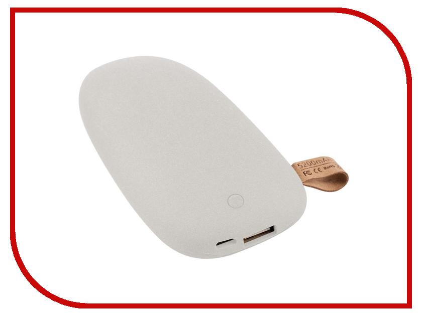 Аккумулятор Pebble 5200mAh Light Grey 5622.60 аккумулятор ice q 5200mah aero 5200 b