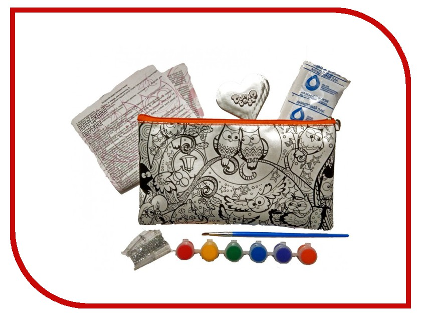 Набор Danko Toys My Color Clutch Совы CCL-01-08